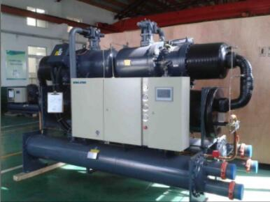water cooled chiller to European customer