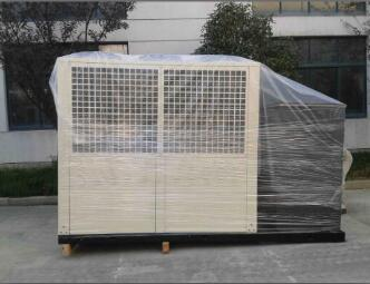 Air cooled scroll chiller with tank to Nigeria